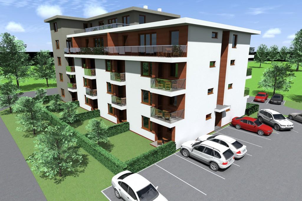 27 lakásos társasház