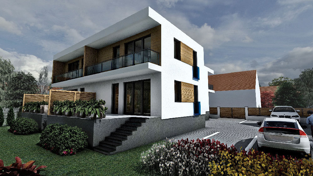 Győr, Levendula utcai irodaház