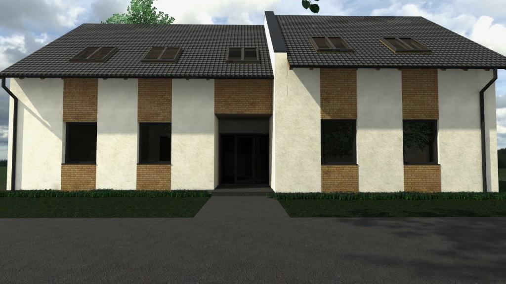 Győr gyárváros kétlakásos ház
