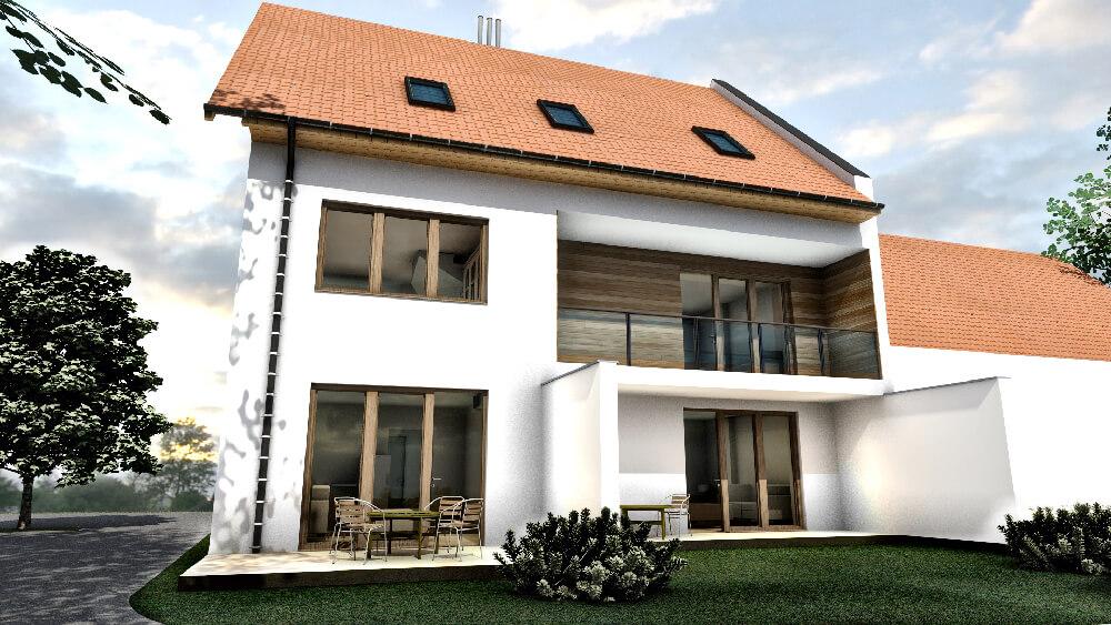 Győr, Báthory utca 4 lakásos társasház