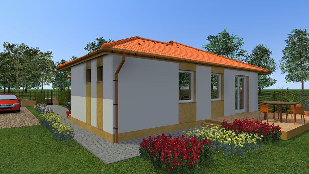 Koroncói három hálószobás ház